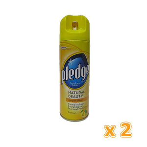 Pledge Furniture Polish Lemon (2 x 350g ) - Sanadeeg