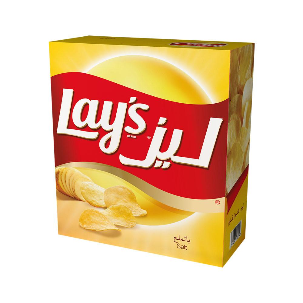 Lay's Salt Potato Chips (14 X 23 gm) - Sanadeeg