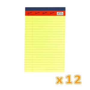 Writing Pad A5 Plain 50 Sheets (1 X 12 Pcs) - Sanadeeg