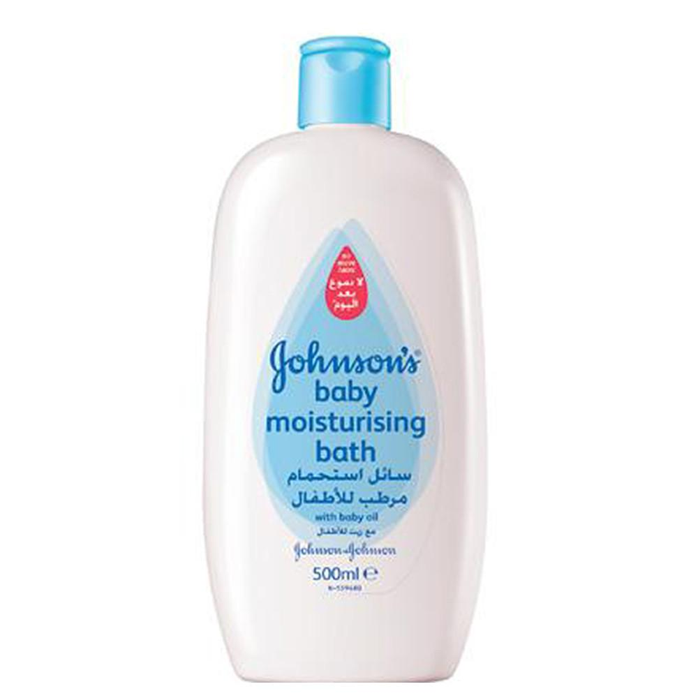Johnson's Baby Moisturising Bath with Oil  500ML - Sanadeeg