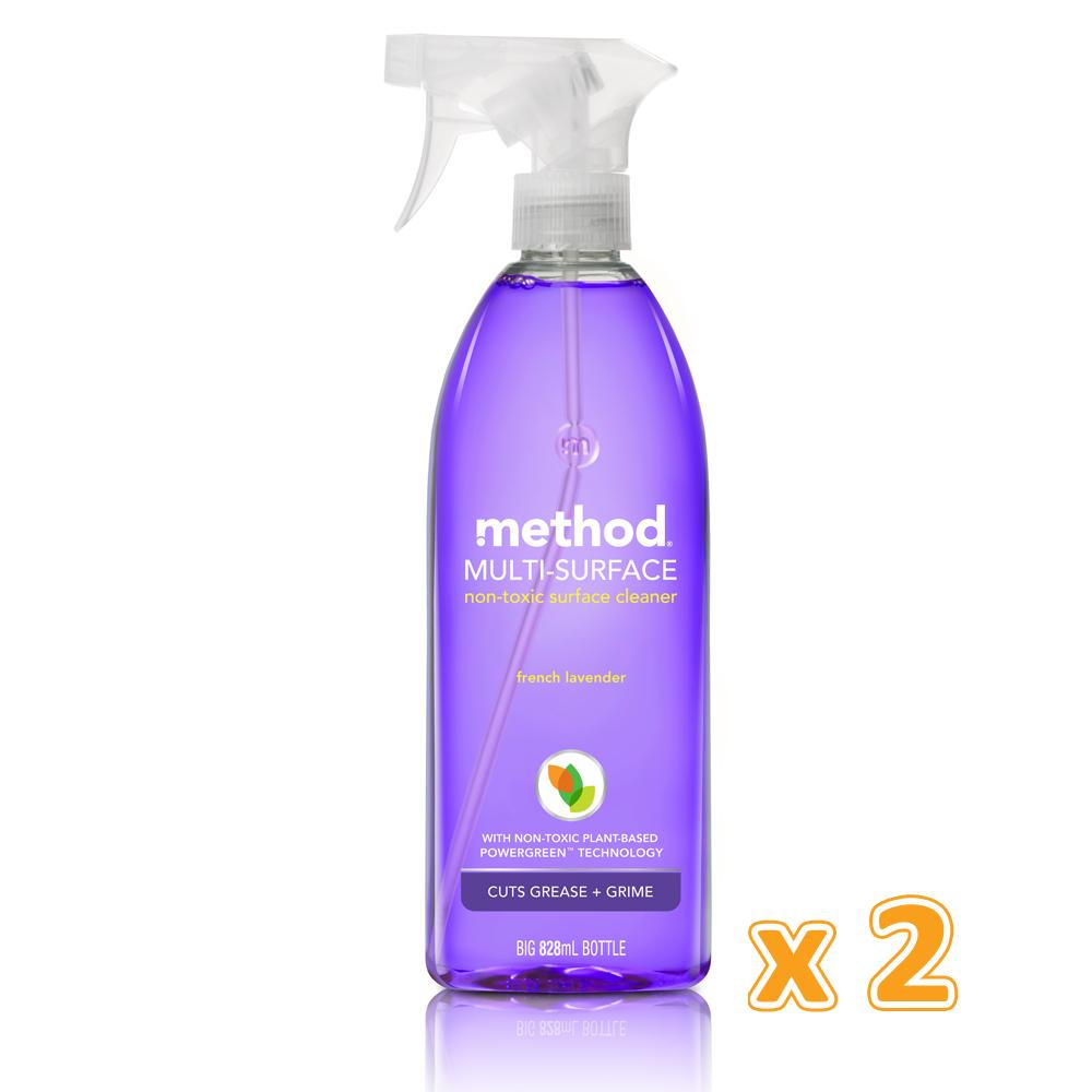 Method All Purpose Cleaner Spray French Lavender (2 x 828 ML) - Sanadeeg