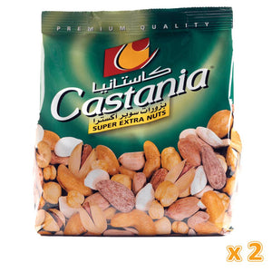 Castania Mixed Super Extra Nuts ( 2 x 450 gm) - Sanadeeg
