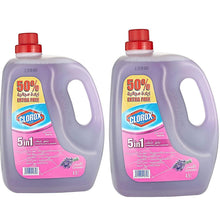 Clorox 5 in 1 Disinfectant Lavender Floor Cleaner (2 x 4.5 L)