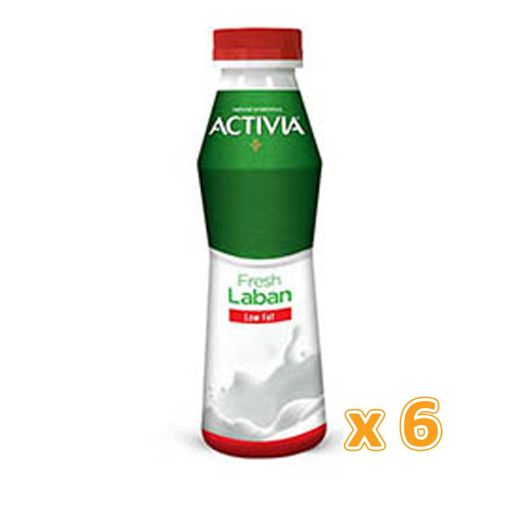 Activia Laban Full Fat (6 x 375ml)