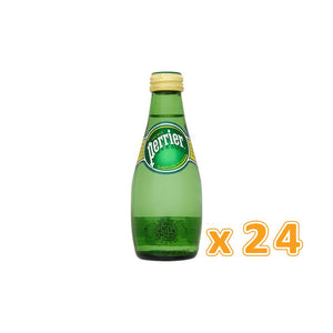 Perrier Sparkling Mineral Water (24 x 200 ml)