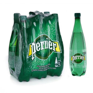 Perrier Sparkling Mineral Water (6 X 1 L)