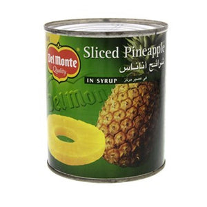 Del Monte Pineapple Slices In Syrup (836 Gm) - Sanadeeg