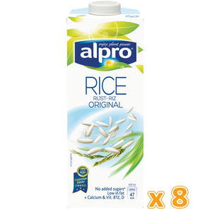 Alpro Rice Milk Drink ( 8  x 1L) - Sanadeeg