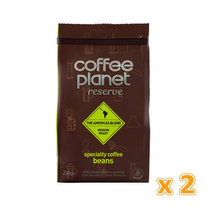 Coffee Planet Reserve Americas Blend Specialty Coffee Beans (2 x 250 gm)