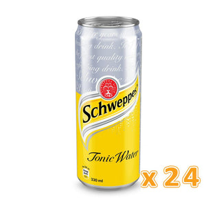 Schweppes Tonic Water Can (24 x 330 ml) - Sanadeeg