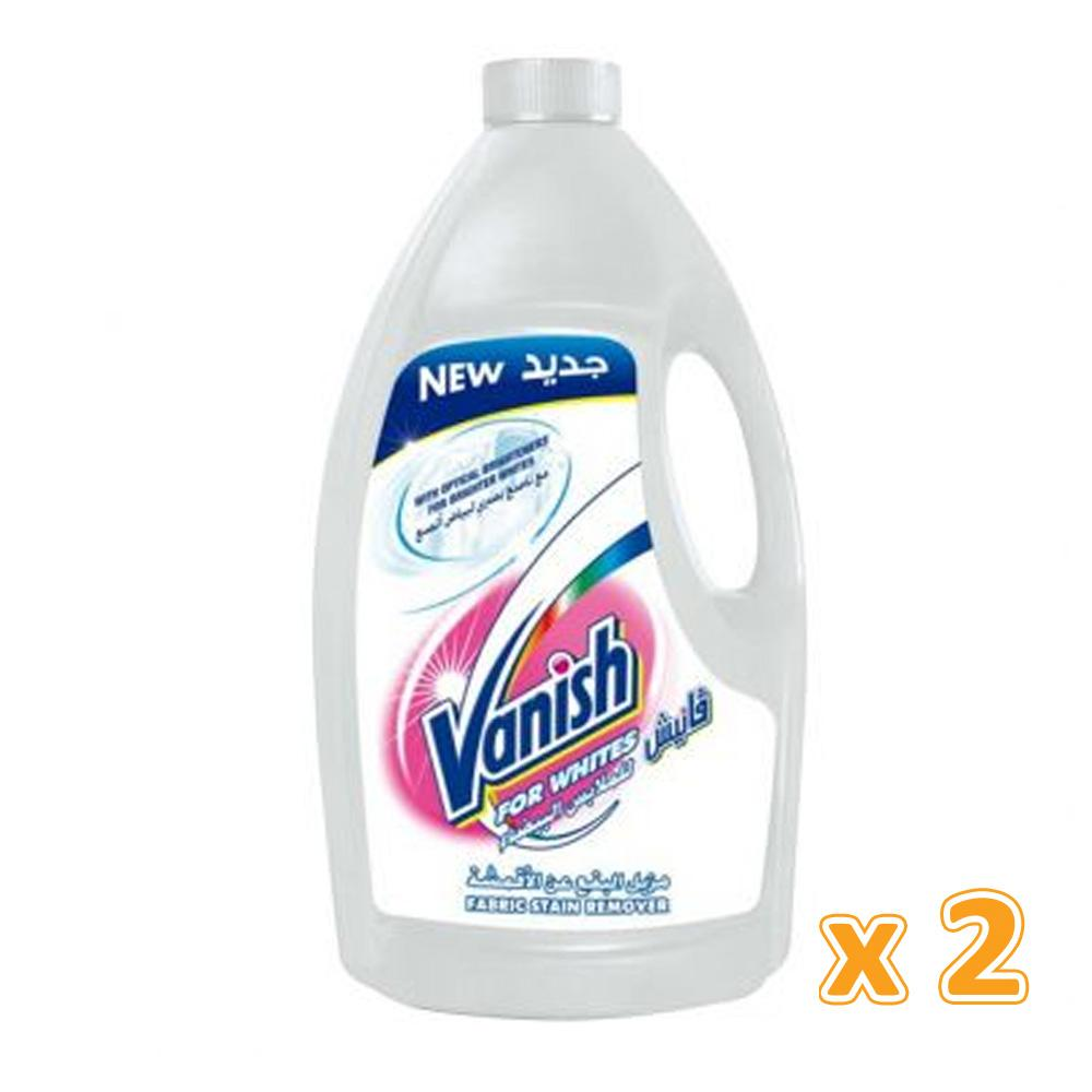 Vanish Stain White Remover Liquid (2 x 3 L)