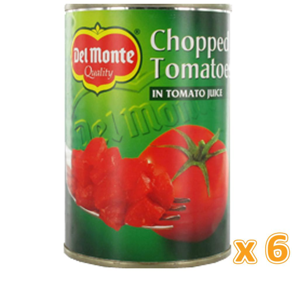 Del Monte Chopped Tomatoes (6 X 400 Gm) - Sanadeeg