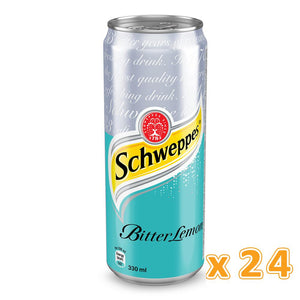 Schweppes Bitter Lemon Can (24 x 330 ml) - Sanadeeg