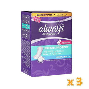Always Regular Pantyliners (3 x 40) - Sanadeeg