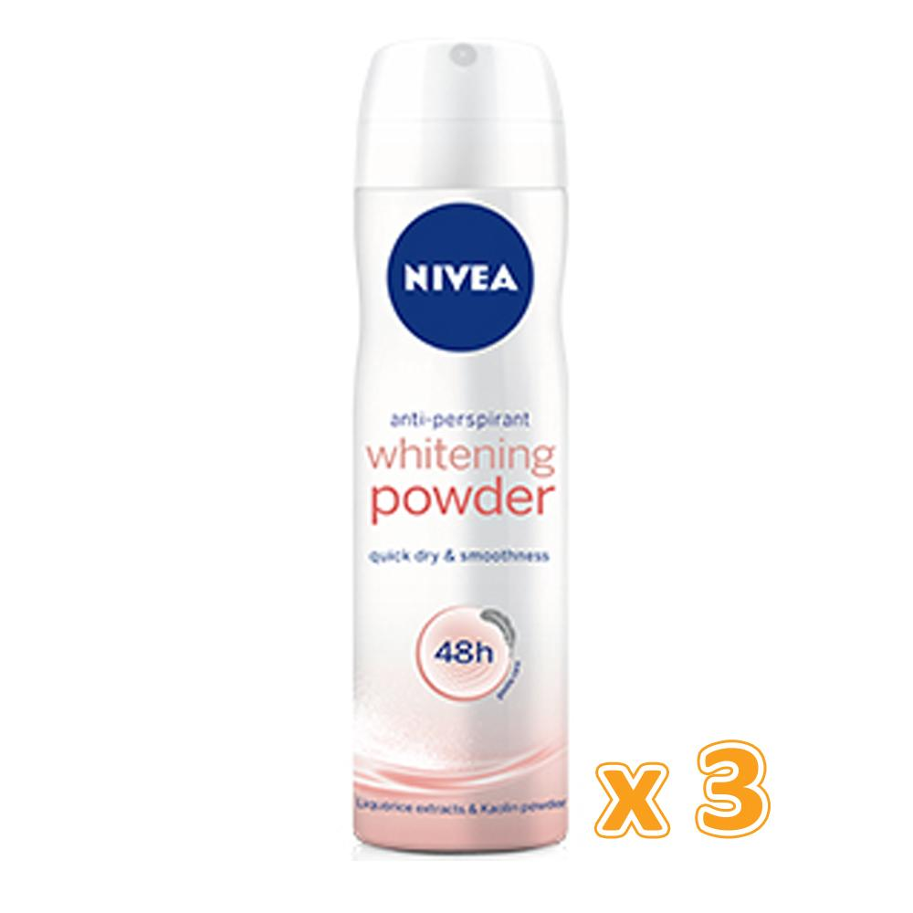 Nivea Whitening Powder Deo Spray (3 x 150ML) - Sanadeeg