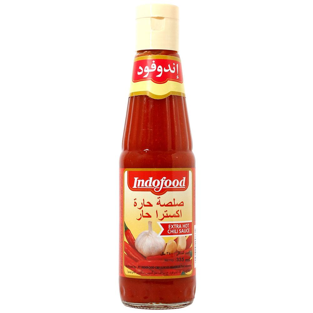 Indofood Extra Hot Chilly Sauce (340 ML) - Sanadeeg