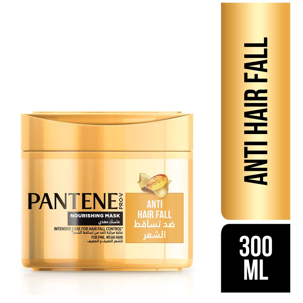 Pantene Pro-V Anti-Hair Fall Intensive Care Nourishing Mask (300 ML) - Sanadeeg