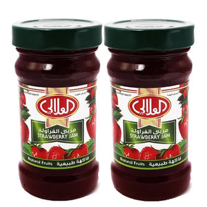Al Alali Natural Strawberry Jam (2 x 400 gm)