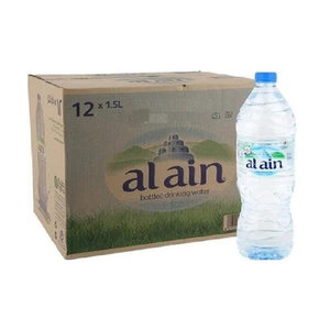 Al Ain Bottled Drinking Water (12 x 1.5 L)