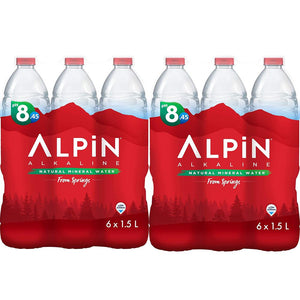 Alpin Spring Water ( 12 x 1.5 L)