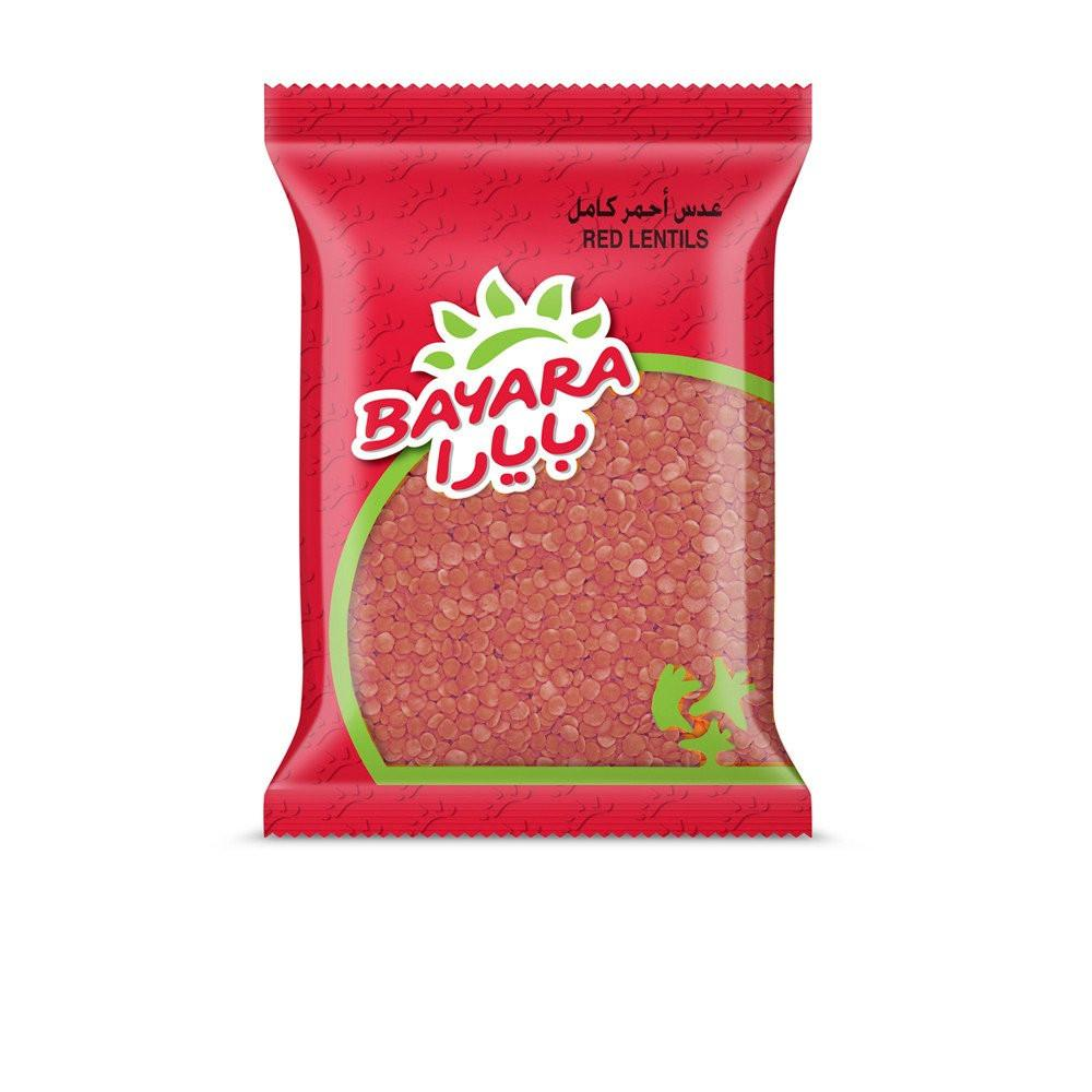BAYARA RED WHOLE LENTILS (400 gm) - Sanadeeg