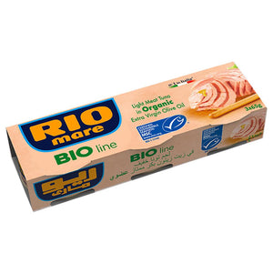Rio Mare Bio Line Organic Tuna in Olive Oil (3 x 65 gm)