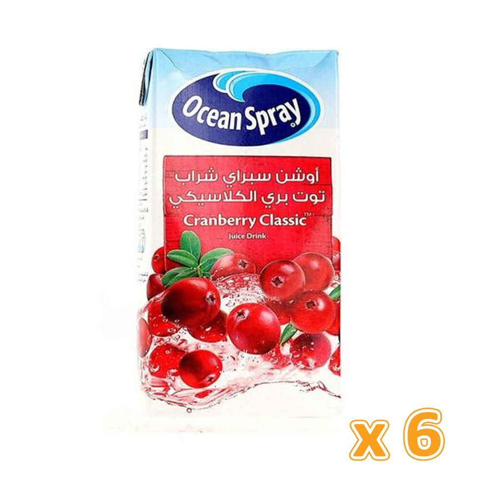 Ocean Spray Cranberry Classic Juice Drink (6 x 1L)