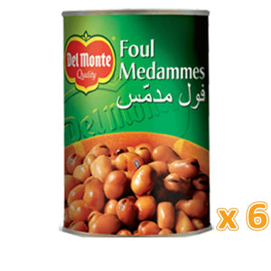 Del Monte Foul Egyptian Recipe (6 X 400 Gm) - Sanadeeg