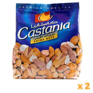 Castania Mixed Extra Nuts ( 2 x 450 gm) - Sanadeeg