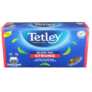 Tetley Black Tea - Strong (200 Bags)