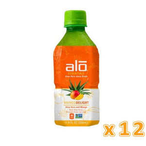 Alo Essentials Mango Delight Aloe Vera Juice (12 x 350 ml) - Sanadeeg