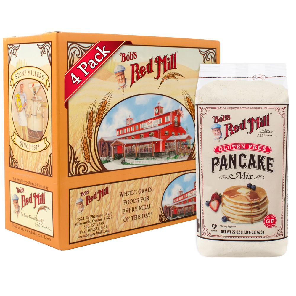 Bob's Red Mill Gluten Free Pancake Mix ( 4 x 623 gm) - Sanadeeg