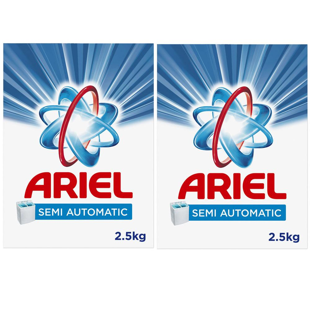 Ariel Original Washing Powder Blue Top Load (2 x 2.5 kg)