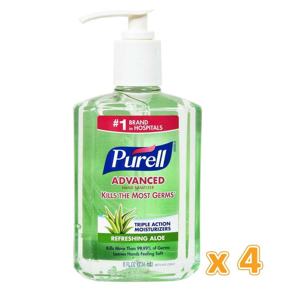 Purell Aloe Hand Sanitizer (4 x 236 ML) - Sanadeeg