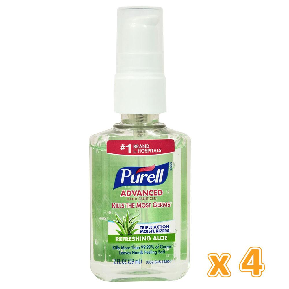 Purell Aloe Hand Sanitizer (4 x 59 ML) - Sanadeeg