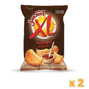 Xl Potato Chips BBQ ( 2x165gm )