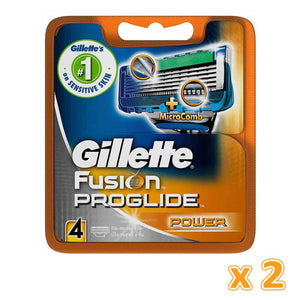 Gillette Fusion Proglide Power Cartridge (2 x 4 Blade's) - Sanadeeg