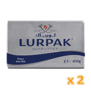Lurpak Salted Butter Block ( 2 x 400 gm) - Sanadeeg