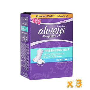 Always Fresh Pantyliners (3 x 40) - Sanadeeg