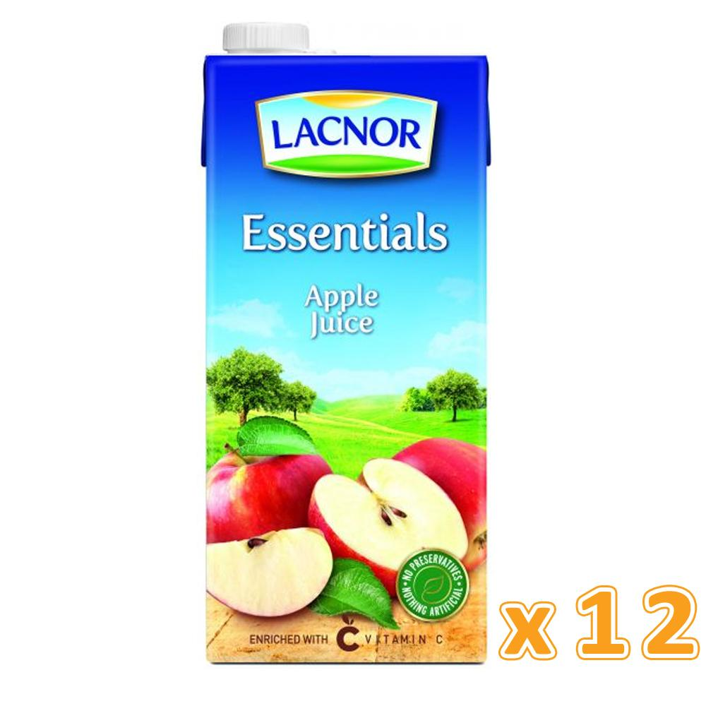 Lacnor Essentials Apple Juice (12 x 1 L)