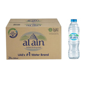 Al Ain Bottled Drinking Water (24 x 500 ml)