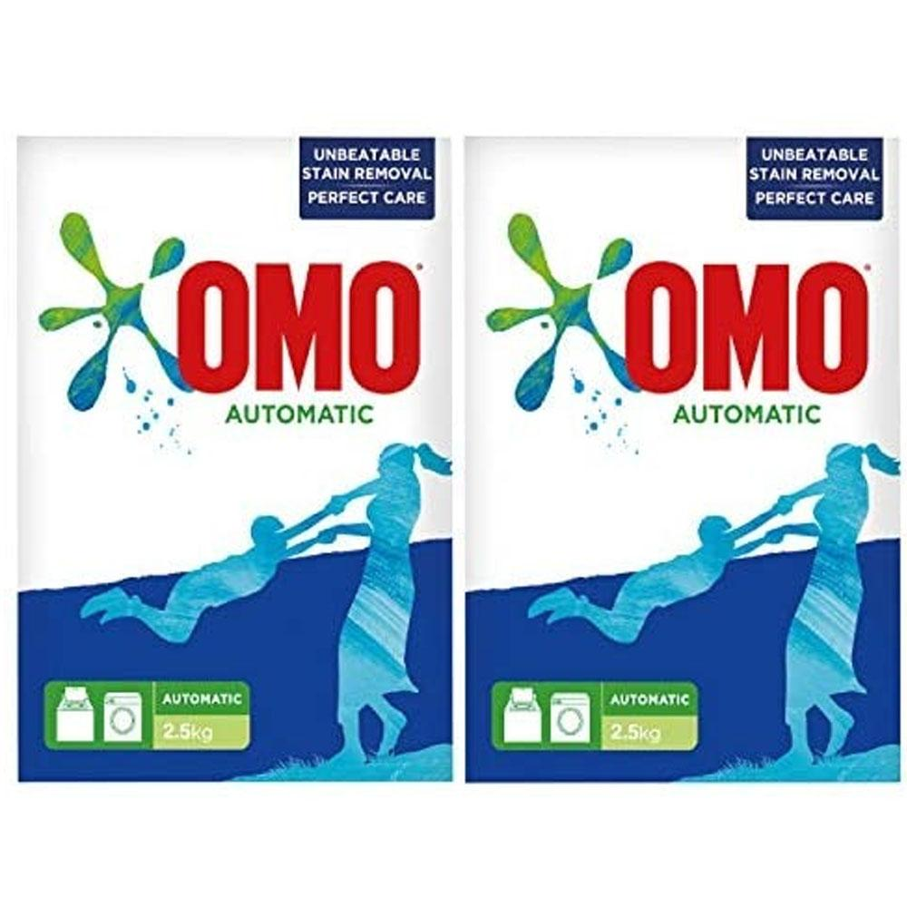 OMO Active Front Loading Green ( 2 x  2.5 kg)