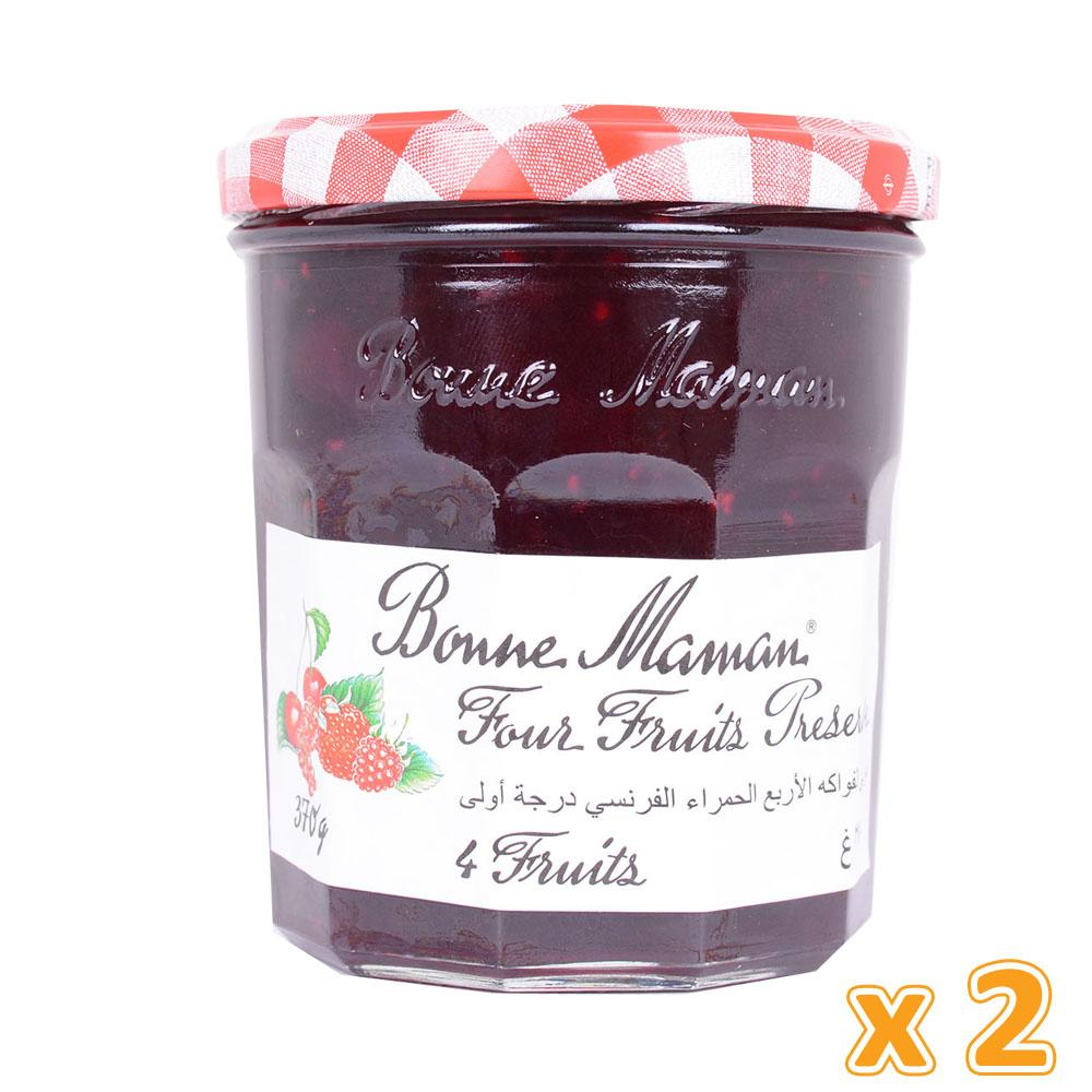 Andros Bonne Maman 4 Fruits Jam (2 x 370 Gm) - Sanadeeg