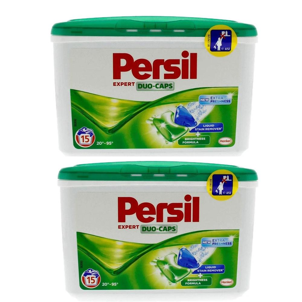 Persil Experts Duo-Caps Liquid Stain Remover (2 x 15's)