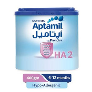 Nutricia Aptamil Hypo-Allergenic 2 Infant Milk (400 Gm) - Sanadeeg
