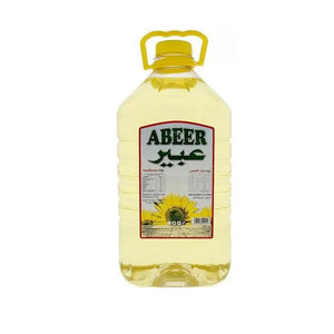 Abeer Sunflower Oil  (1 x 5L) - Sanadeeg