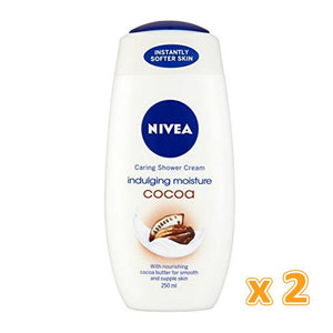 Nivea Care & Cocoa Shower Cream (2 x 250 ml) - Sanadeeg