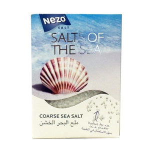 Nezo Coarse Sea Salt 500 Gm - Sanadeeg