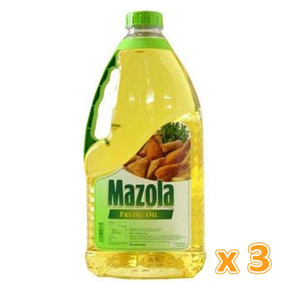 Mazola Frying Oil (3 X 1.8 L) - Sanadeeg