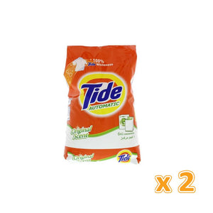 Tide Automatic Washing Powder Concentrated Original Scent (2 x 6 KG) - Sanadeeg